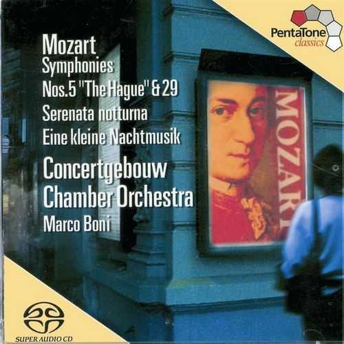 Boni: Mozart - Symphonies no.5, 29, Serenades no.6, 13 (24/96 FLAC)