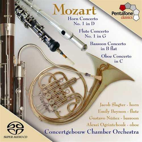 Slagter, Beynon, Núñez, Ogrintchouk: Mozart - Wind Concertos (24/96 FLAC)