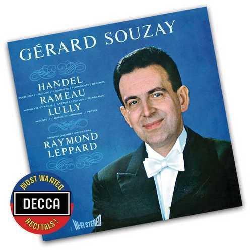 Gerard Souzay sings Handel, Rameau and Lully (FLAC)