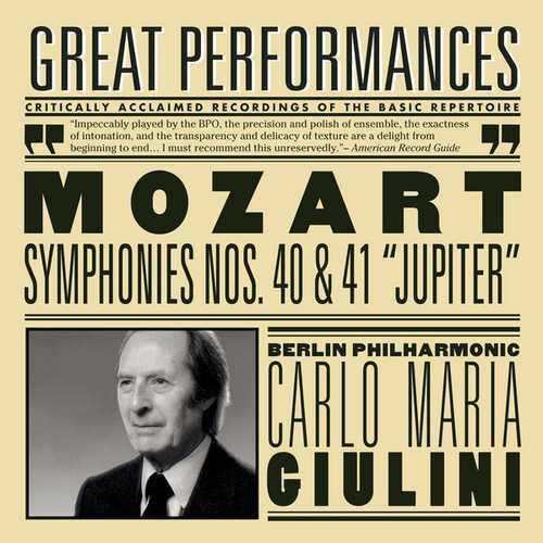 "Giulini: Mozart - Symphonies no. 40 & 41 ""Jupiter"" (FLAC)"