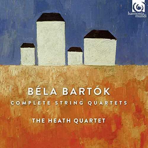 Heath Quartet: Bartók - Complete String Quartets (24/96 FLAC)
