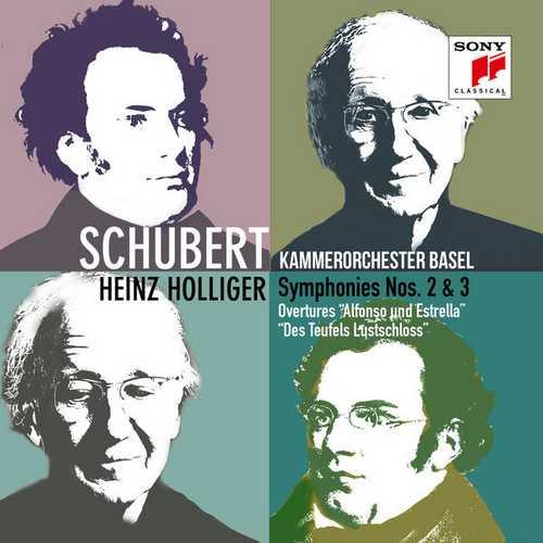 Holliger: Schubert - Symphonies no.2 & 3 (24/96 FLAC)