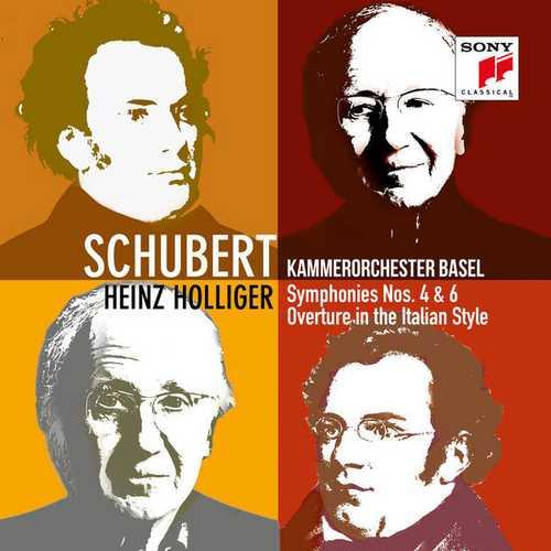 Holliger: Schubert - Symphonies no.4 & 6 (24/96 FLAC)