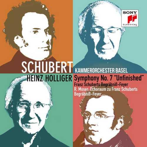 "Holliger: Schubert - Symphony no.7 ""Unfinished"", Begräbniß-Feyer (24/96 FLAC)"