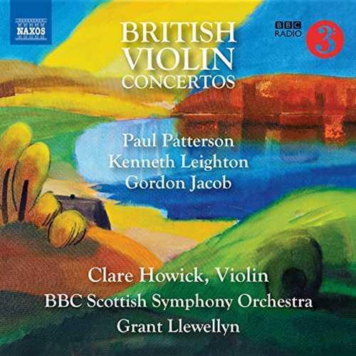 Howick, Llewellyn: British Violin Concertos (24/96 FLAC)
