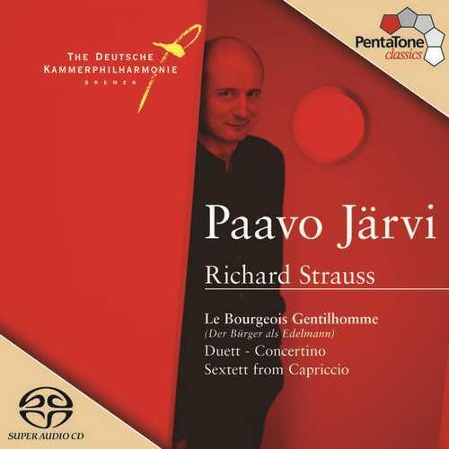 Järvi: Strauss - Suite for Orchestra from Der Bürger als Edelmann, Duett-Concertino, Sextett from Capriccio (24/96 FLAC)