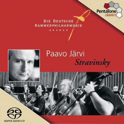 Järvi: Stravinksy - Grand Suite from Histoire du Soldat, Dumbarton Oaks Concerto (24/96 FLAC)