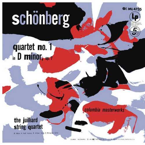 Juilliard String Quartet: Schoenberg - String Quartet no.1. Remastered (24/192 FLAC)