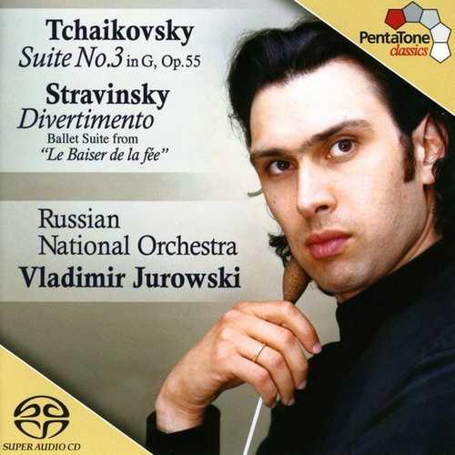 Jurowski: Tchaikovsky - Suite no.3 in G, Stravinsky - Divertimento (24/96 FLAC)