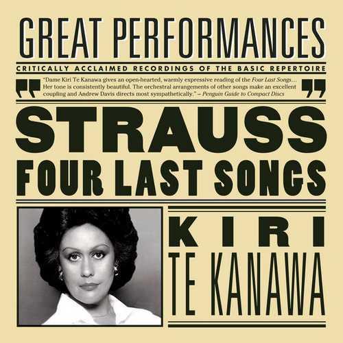 Kiri Te Kanawa: Strauss - Four Last Songs (FLAC)
