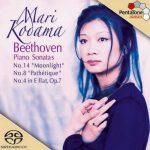 Kodama: Beethoven - Piano Sonatas no.14, 8 & 4 (24/96 FLAC)