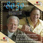 Marriner: 80/50 Anniversary Album. Mozart - Clarinet Concert K622, Clarinet Quintet K581 (24/96 FLAC)