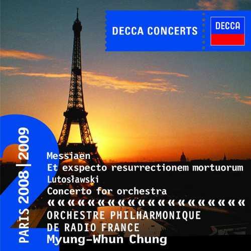 Messiaen - Et Exspecto Resurrectionem Mortuorum, Lutosławski - Concerto for Orchestra (FLAC)