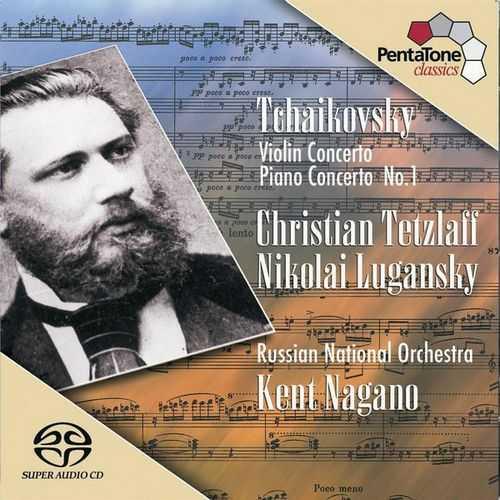 Nagano: Tchaikovsky - Violin Concerto, Piano Concerto no.1 (24/96 FLAC)