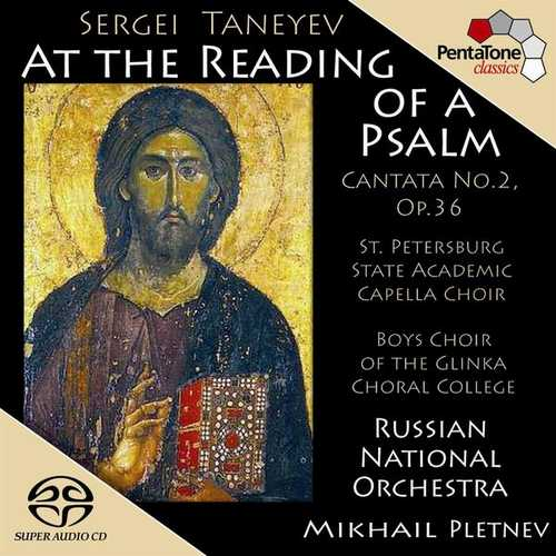 Pletnev: Taneyev - At the Reading of a Psalm (24/96 FLAC)