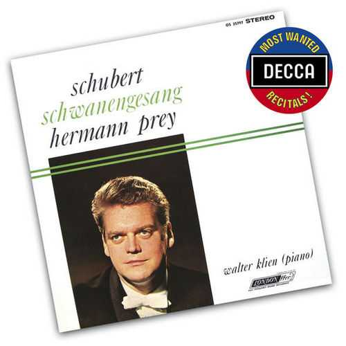 Prey: Schubert - Schwanengesang (FLAC)