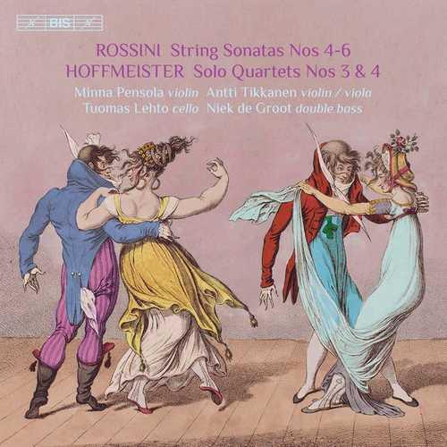 Rossini - Sonatas for Strings no.4-6, Hoffmeister - Double Bass Quartets no.3 & 4 (24/96 FLAC)