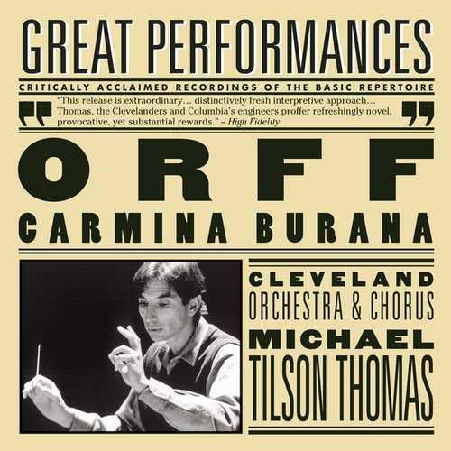 Tilson Thomas: Orff - Carmina Burana (FLAC)