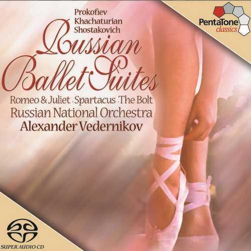 Vedernikov: Russian Ballet Suites (24/96 FLAC)