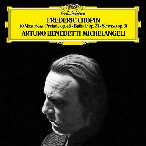 Arturo Benedetti Michelangeli: Chopin - 10 Mazurkas (24/96 FLAC)