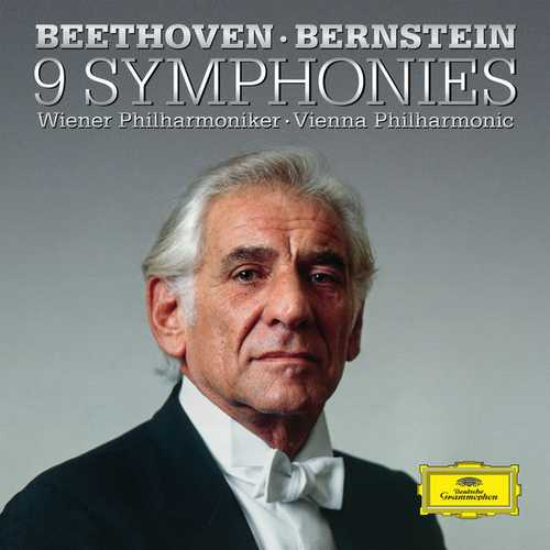 Bernstein: Beethoven - 9 Symphonies. Remastered (24/192 FLAC)