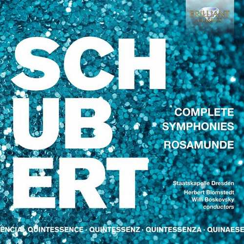 Blomstedt, Boskovsky: Schubert - Complete Symphonies, Rosamunde (FLAC)