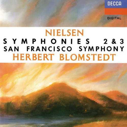 Blomstedt: Nielsen - Symphonies no.2 & 3 (FLAC)