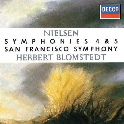 Blomstedt: Nielsen - Symphonies no.4 & 5 (FLAC)