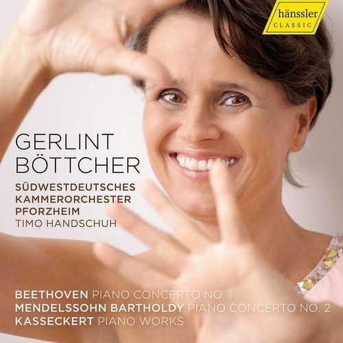 Böttcher: Beethoven, Mendelssohn - Piano Concertos, Kasseckert - Piano Works (FLAC)