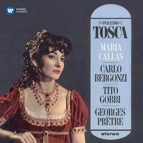 Callas, Bergonzi, Gobbi, Prêtre: Puccini - Tosca (24/96 FLAC)
