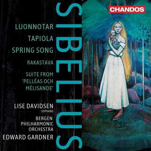 Davidsen, Gardner: Sibelius - Luonnotar, Tapiola, Spring Song (24/96 FLAC)