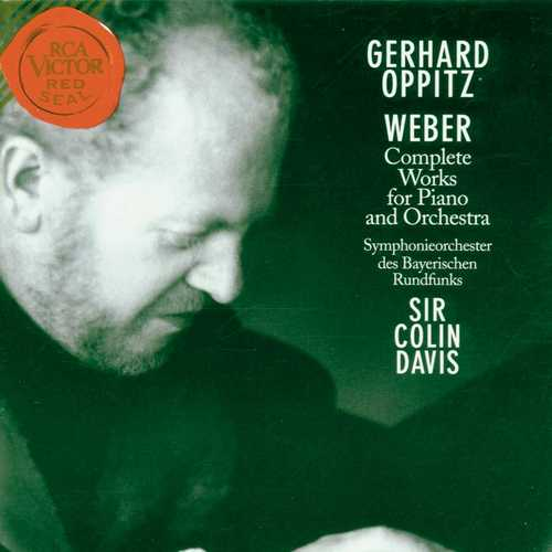 Oppitz, Davis: Weber - Complete Works For Piano And Orchestra (FLAC)