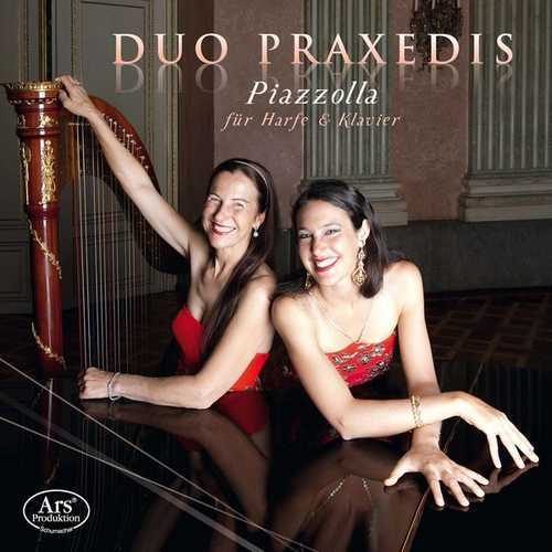 Duo Praxedis: Piazzolla - Works for Harp & Piano (24/48 FLAC)