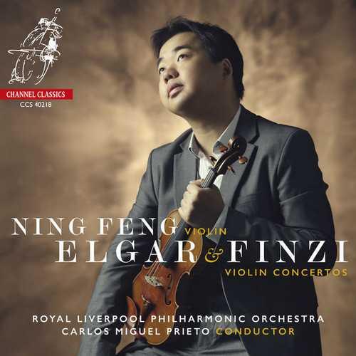 Feng, Prieto: Elgar & Finzi : Violin Concertos (24/192 FLAC)