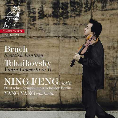 Feng, Yang: Bruch - Scottish Fantasy, Tchaikovsky - Violin Concerto in D (24/192 FLAC)