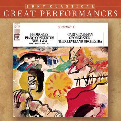 Graffman: Prokofiev - Piano Concertos no.1 & 3, Piano Sonatas no.2 & 3 (FLAC)