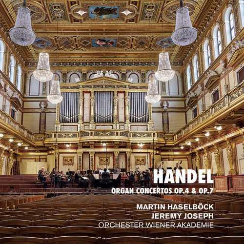 Haselböck: Handel - Organ Concertos op.4 & op.7 (24/96 FLAC)