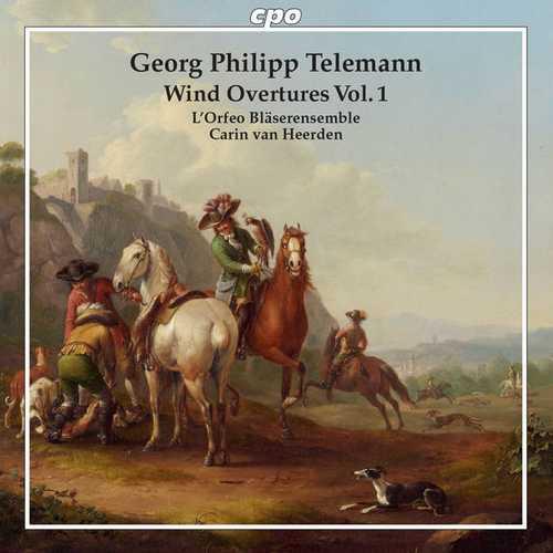 Heerden: Telemann - Wind Overtures vol.1 (FLAC)