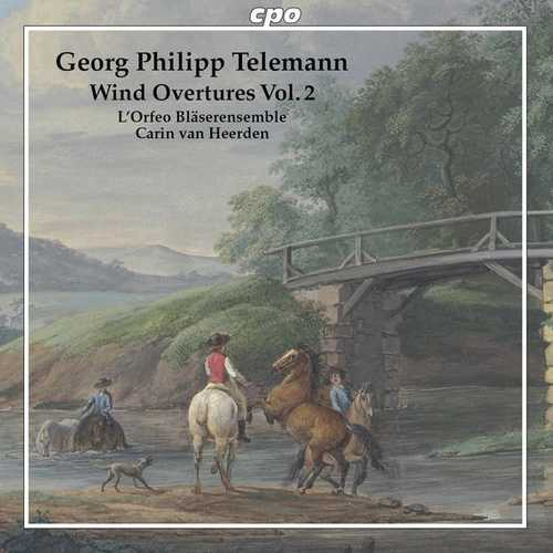 Heerden: Telemann - Wind Overtures vol.2 (FLAC)