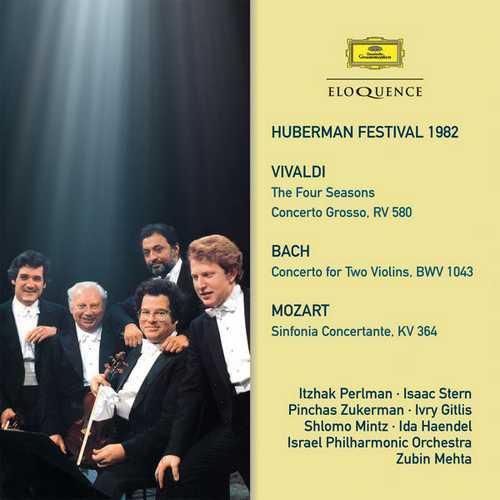 Huberman Festival 1982: Vivaldi, Bach, Mozart (FLAC)