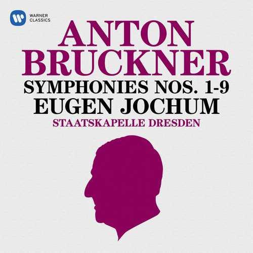 Jochum: Bruckner - Symphonies no.1-9 (FLAC)