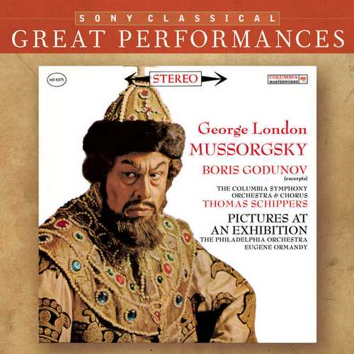 London, Schippers, Ormandy: Mussorgsky - Boris Godunov Excerpts, Pictures at an Exhibition (FLAC)