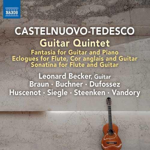 Castelnuovo-Tedesco - Guitar Quintet (24/96 FLAC)