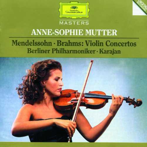 Anne-Sophie Mutter: Mendelssohn, Brahms - Violin Concertos (FLAC)