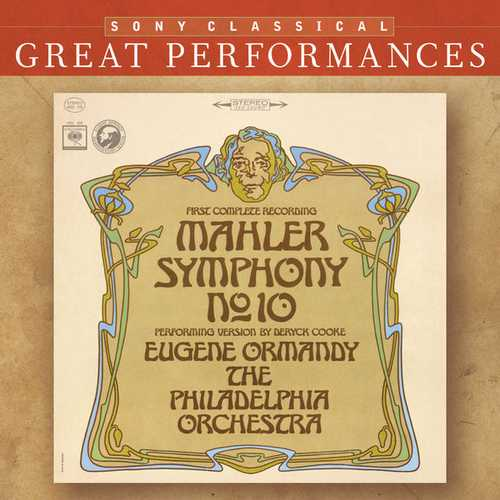 Ormandy: Mahler - Symphony no.10. First Complete Recording (FLAC)