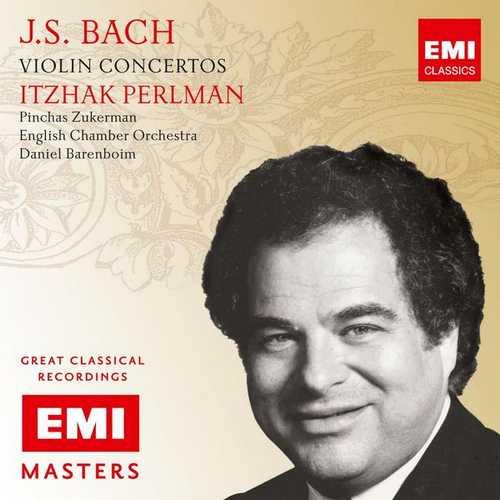 Perlman: Bach - Violin Concertos (FLAC)