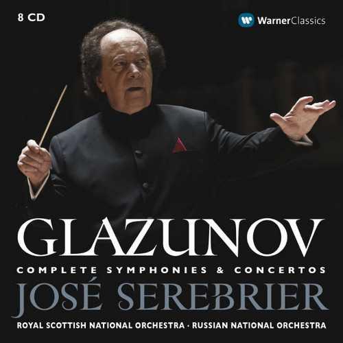 Serebrier: Glazunov - Complete Symphonies & Concertos (FLAC)