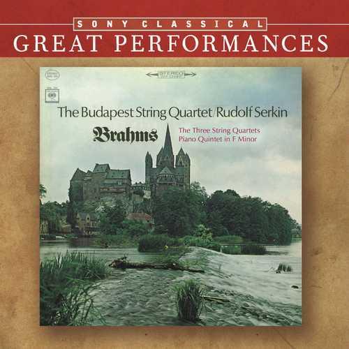 Serkin: Brahms - The Three String Quartets, Piano Quintet in F minor (FLAC)