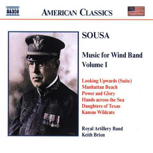 Sousa - Music for Wind Band vol.1 (FLAC)