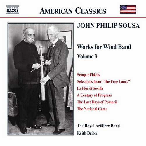 Sousa - Music for Wind Band vol.3 (FLAC)